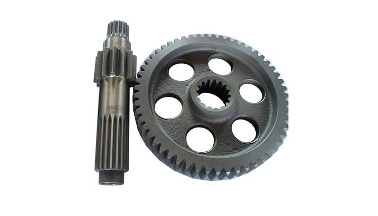 Ductile gray iron casting - gear casting - CNC machining gear hobbing