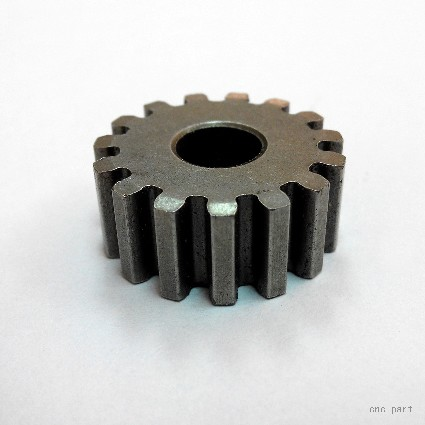 China CNC Machining Ring Gear Made of Cast Iron for Oil Press