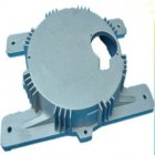 cnc machine work-Electric Motor End Cover High Pressure Die Cast Aluminum Alloy Adc12 Housing