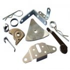 laser milling-Metal Stamped Part with Various Finish and 315T Punch, Made of Various Materials
