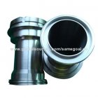 cnc machine dealers-Stainless steel fitting, made of stainless steel, used as pipe fitting