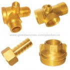 cnc laser cutting-Hot Forged Part, Made of Brass, Customized Specifications are Accepted