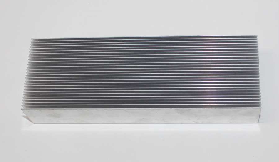 Aluminum alloy radiator - dense teeth radiator - power amplifier radiator